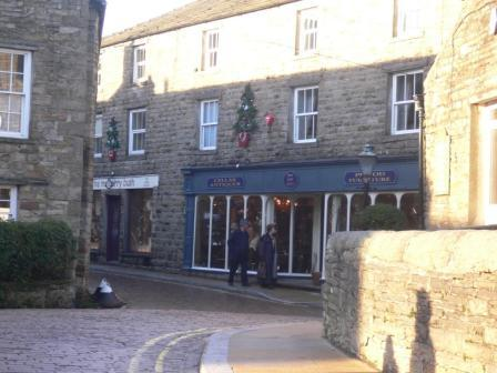 hawes in winter